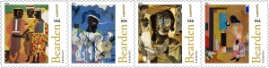 Romare Bearden's Foever Stamps!!
