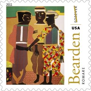 Romare Bearden Forever Stamp