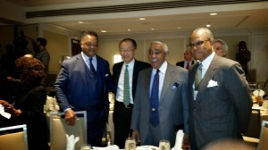 Mr. Kim of the Wall Bank and Rev Jackson