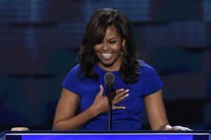 First Lady Michelle Obama ignites the DNC!